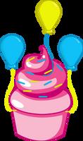 Pinkie Pie Cupcake