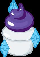 Rarity Cupcake by ShadowFoxGraphics