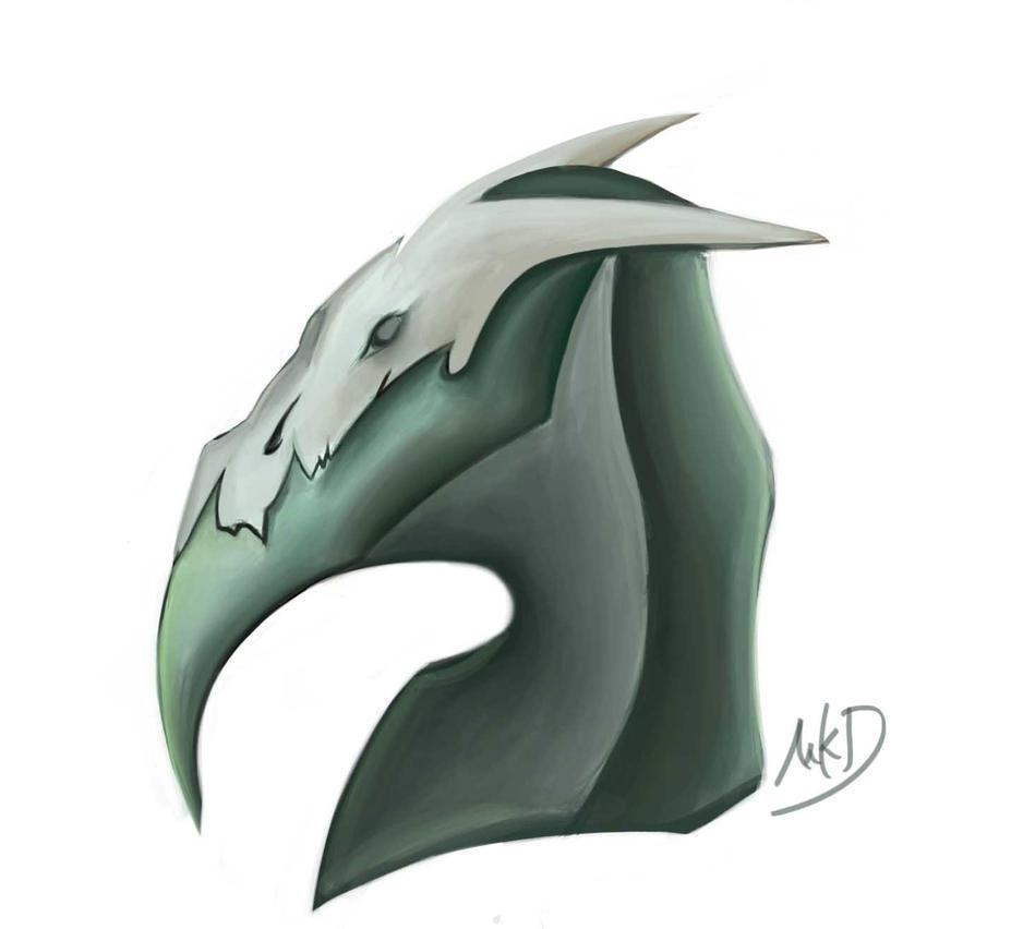 skull Dragon by FireBrandWolf777