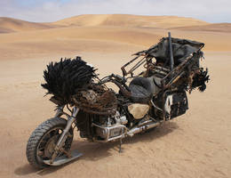 Mad Max Fury Road - Vulvalini Clan - Blackwing by deafmusic