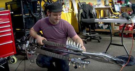 Mad Max Fury Road - The Doof Guitar by deafmusic
