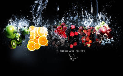 Fresh And Fruits by Lacza