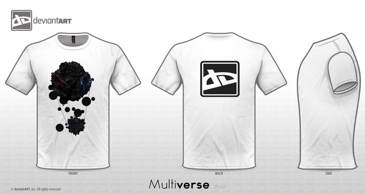 Da T-Shirt Contest Multiverse by Lacza