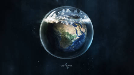 There is no Planet B. by Lacza