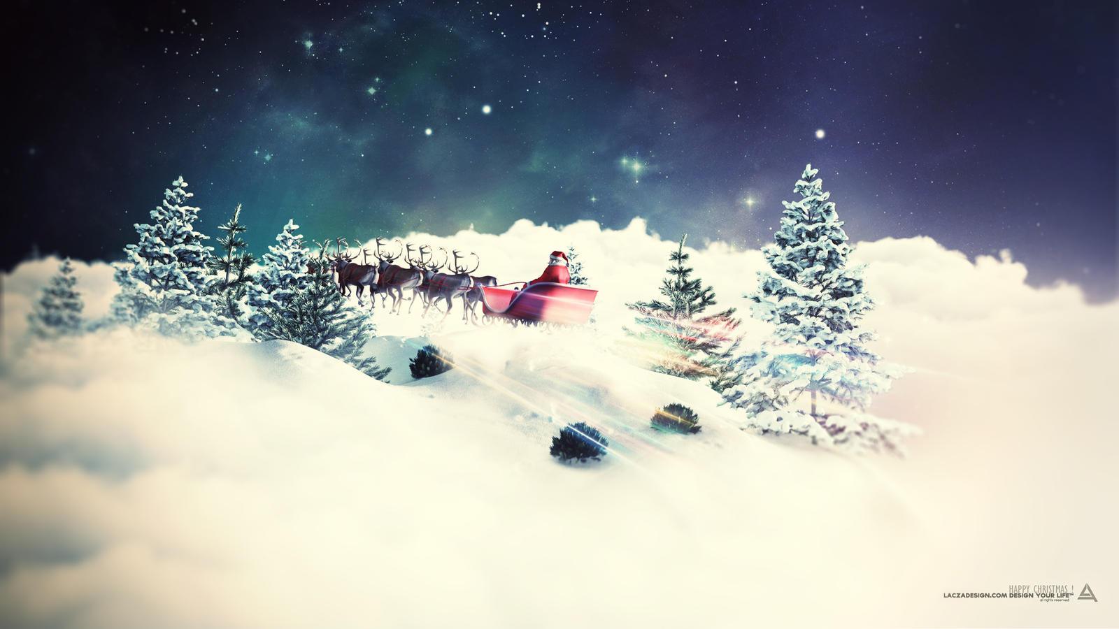 Happy Christmas 2012 by Lacza