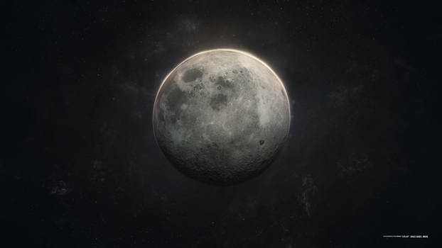 Space Series-Moon