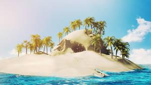 Treasure Island by Lacza