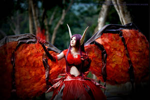 Cosplay - League of Legends - Morgana by PipiChu0226