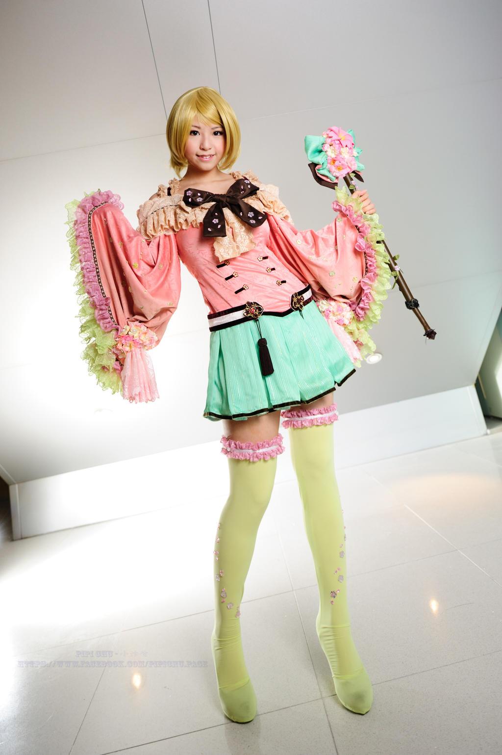 Love live hanayo cosplay