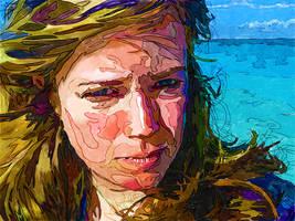 Eva's Ocean by jonniedee