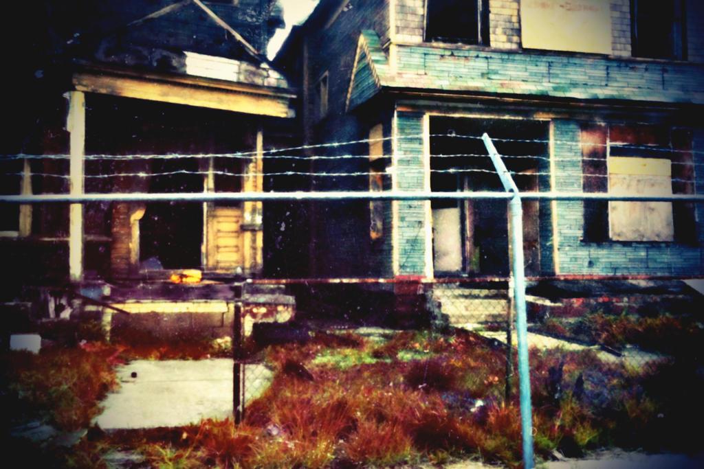 Pictures of broken homes