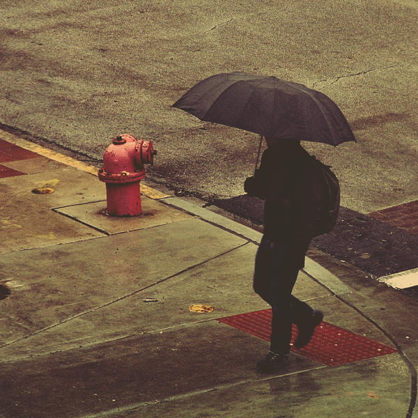 February Rain by jonniedee