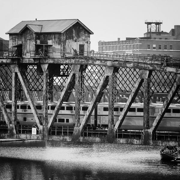 Pennsylvania Railroad bridge by jonniedee