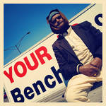Man On Your Bench