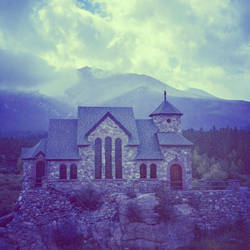 Rocky Mountain Church by jonniedee