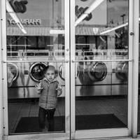 Boy at the Laundromat