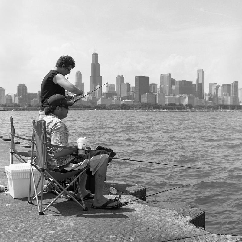 Urban Fishermen by jonniedee