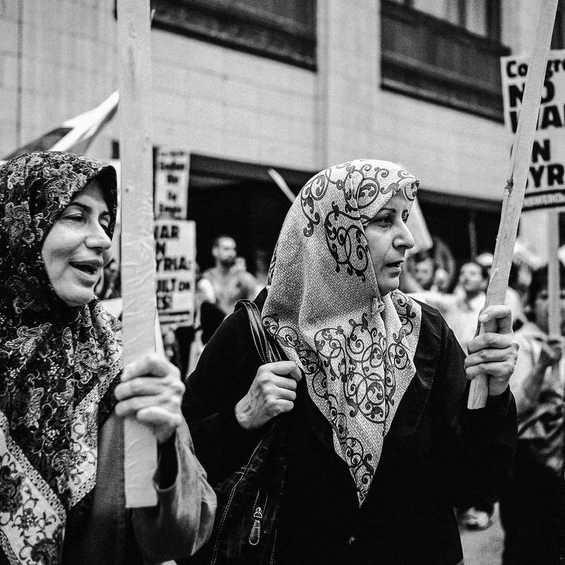 Protesters by jonniedee
