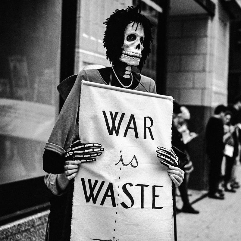 War is Waste by jonniedee