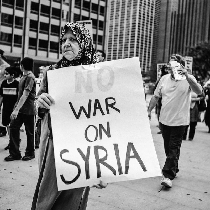 No War On Syria by jonniedee