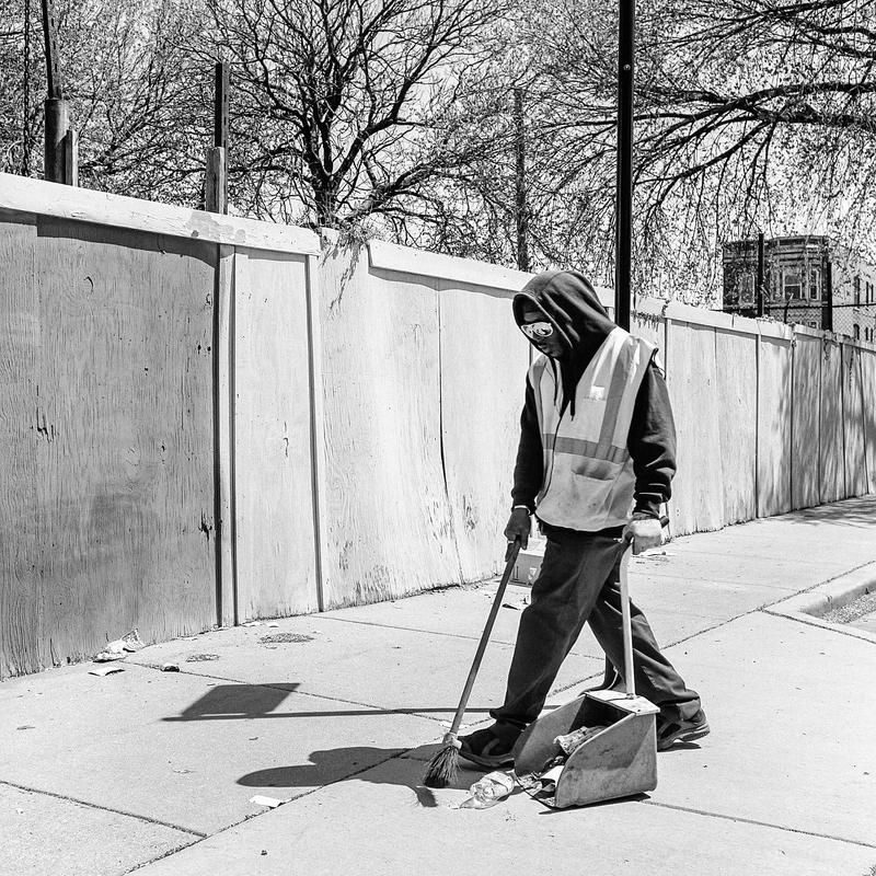 The Sweeper by jonniedee