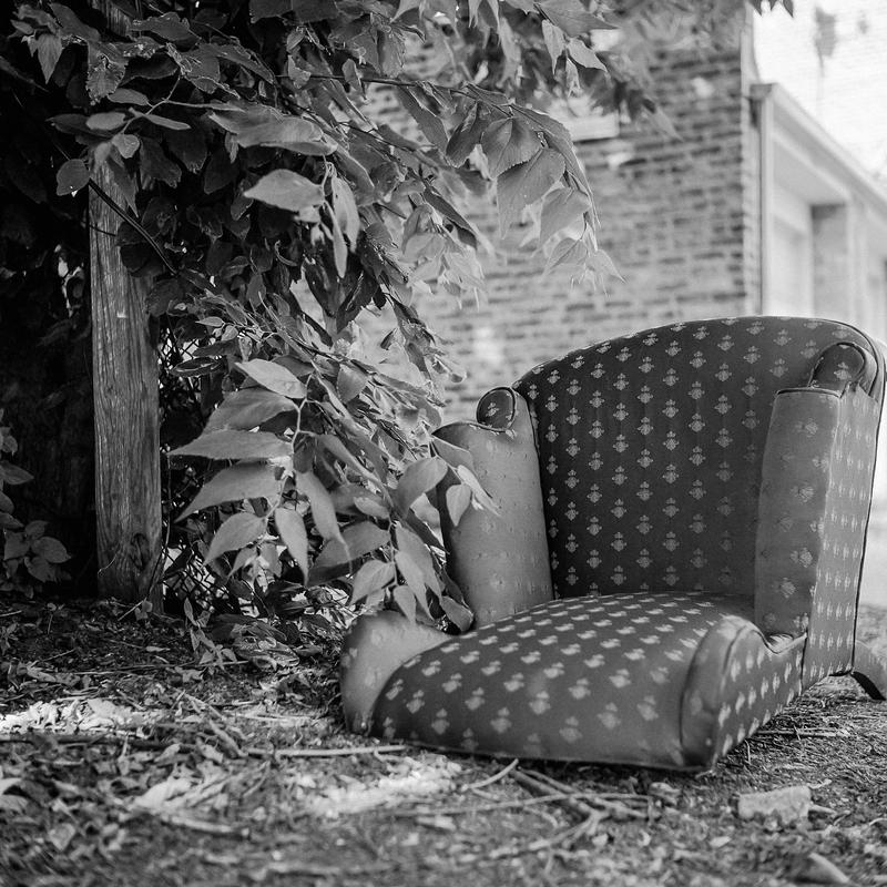 Chair in the Leaves by jonniedee