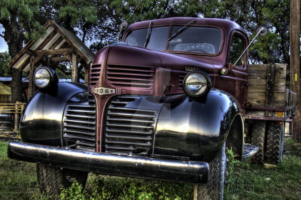 Vintage Dodge Truck By Myvisualreality On Deviantart