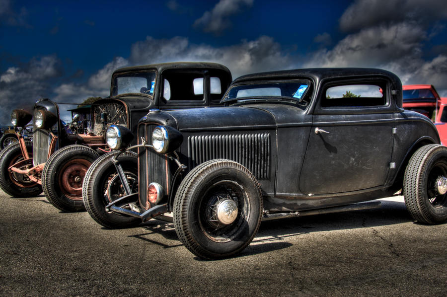 Old School Hot Rods by myvisualreality on DeviantArt