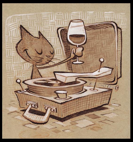 Vino Vinyl by BerniePetterson