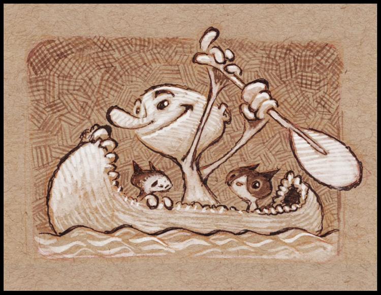 Creek Explorers by BerniePetterson
