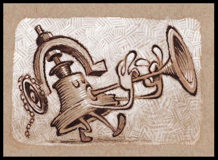 Bell Horn by BerniePetterson