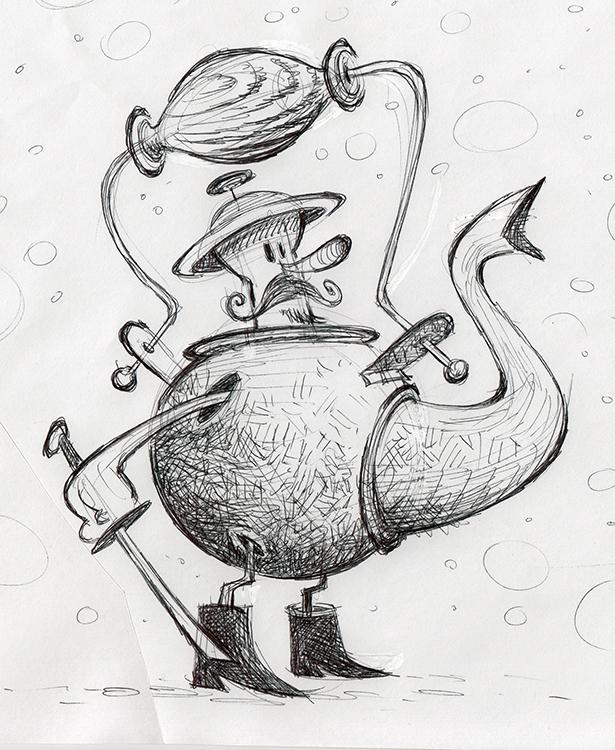 Tea Sword by BerniePetterson