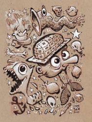 The Plaid Hat by BerniePetterson