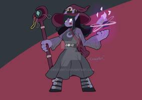 Sera the spellcaster by Crozzarts