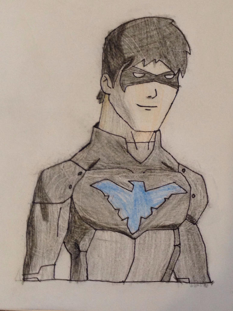 Nightwing by Princetarbos