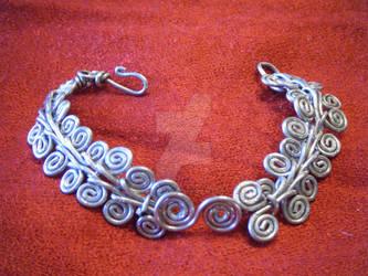 Egyptian Spiral Cuff
