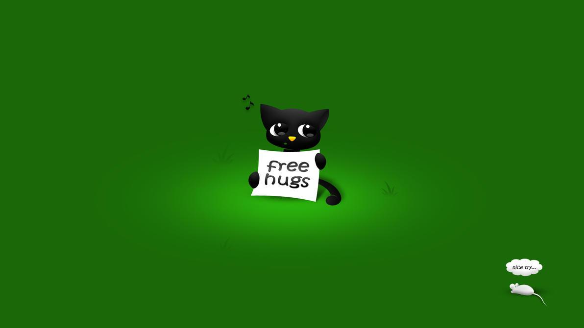 Free Hugs by minstreldesign