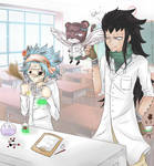Science with Gajeel and Levy