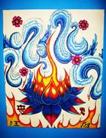 lotus waves by lady-dark-art