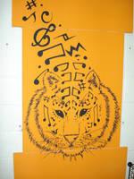 music tiger by lady-dark-art