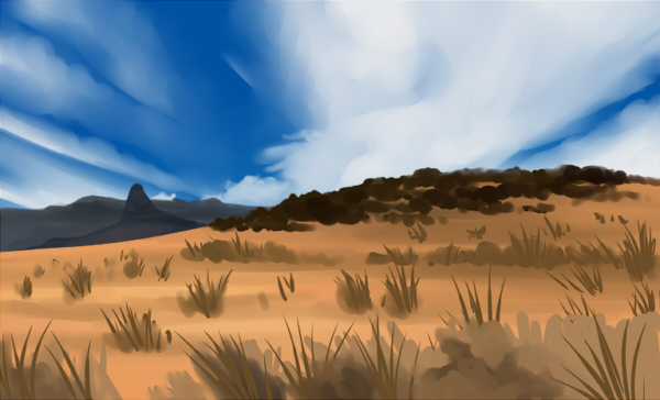 Feb. 1 Speedpaint by kohu-scribbles