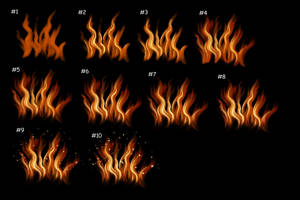 Quick scribbly fire tutorial for SAI + Manga Studi by kohu-scribbles