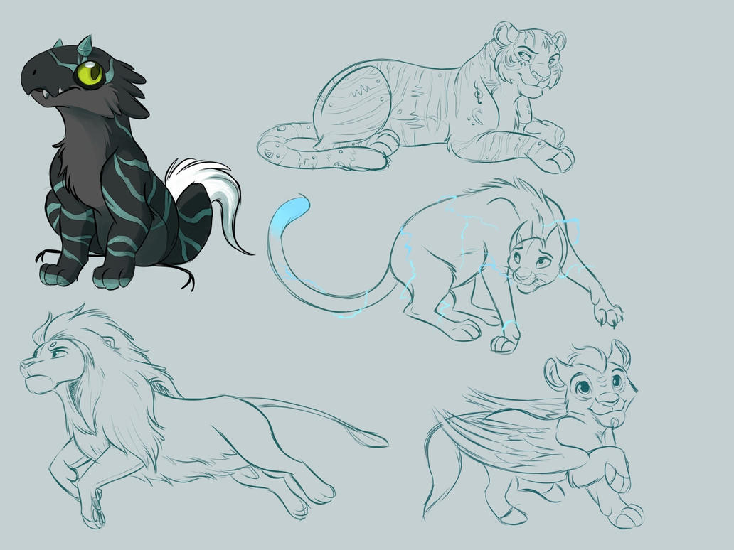 Sketch Requests 1.0 by kohu-scribbles