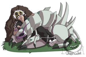 It's your boy (and his bug) by ScreamingOnioncake