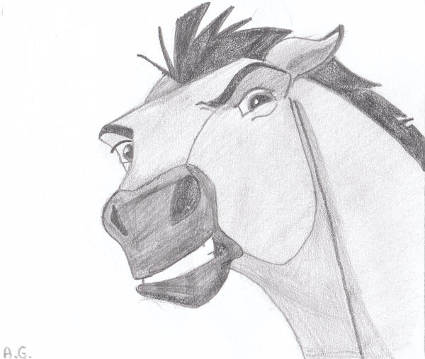 Spirit Stallion 3 by alvija on DeviantArt  Spirit Stallion...
