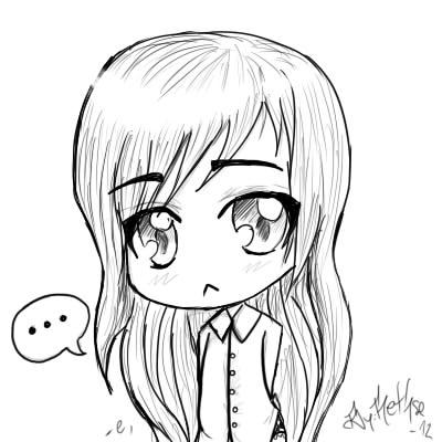 Único Chica De Anime Para Colorear Deviantart Modelo - Páginas Para ...