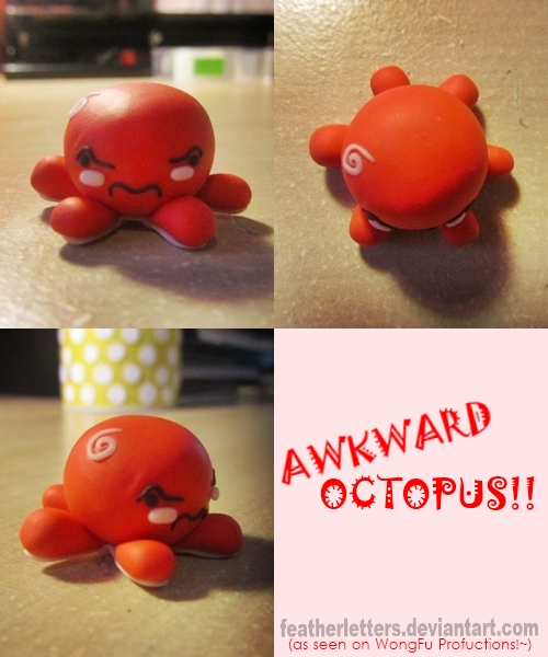 awkward octopus wongfu productions by featherletters on