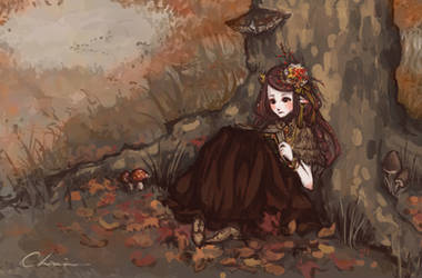 Autumn by GrimoireHazelwitch