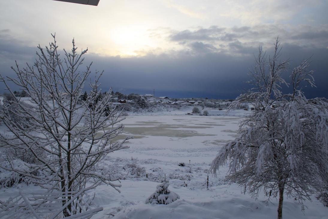 Classic winter landscape by FireNeslo