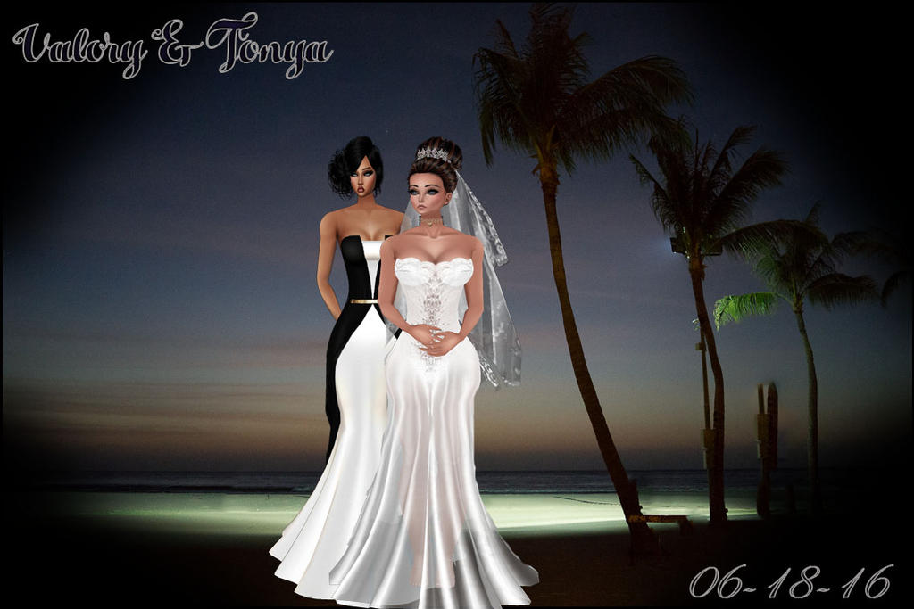 Beachscene Wedding 5 by HisAngelGoddess2010